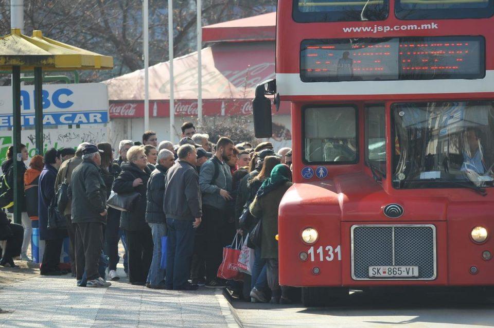 Автобусите 50 и 57 ќе стојат во ГТЦ