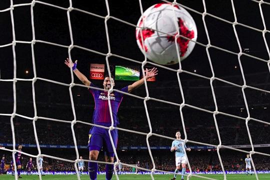 """Барселона ја декласира Селта за место во четвртфиналето во """"Копа Дел Реј"""""""