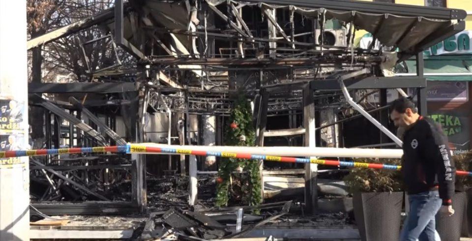 """Сопственикот на запалениот прилепски кафе бар: Лицето кое ми го запали објектот бараше рекет и се закануваше со """"важни"""" луѓе"""