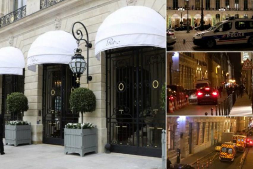Филмска кражба во Париз: Вооружени со секири упаднале во Риц Карлтон и украле накит вреден милиони евра