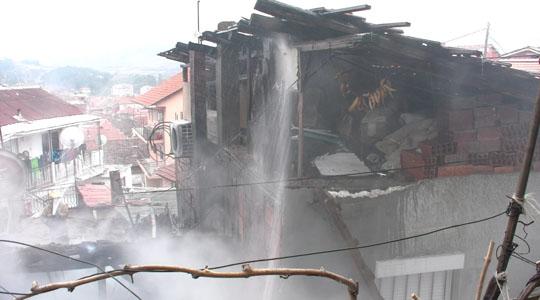 """Пожар во штипската населба """"Радански пат"""""""