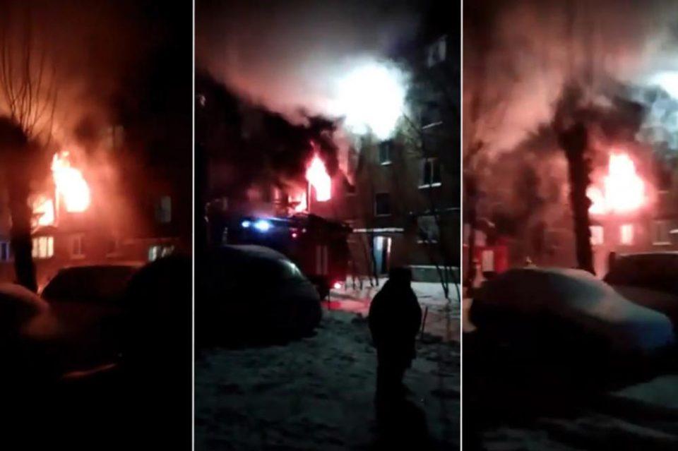 ДРАМА ВО РУСИЈА: Шест лица, од кои 4 деца тешко повредени во експлозија во зграда (ВИДЕО)