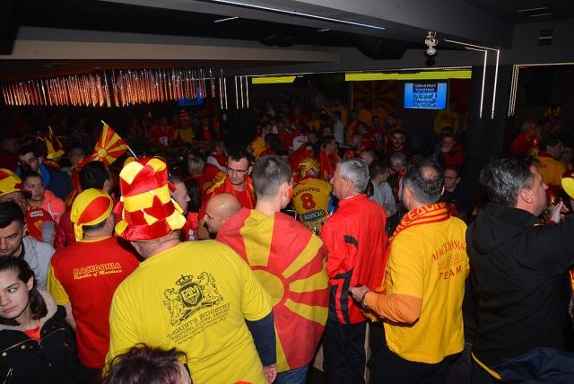 ВИДЕО: Македонците еуфорично слават во Загреб