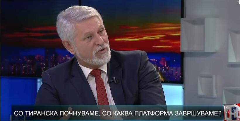 Јакимовски: Некоректно е Албанците да преговараат за промена на името на Република Македонија