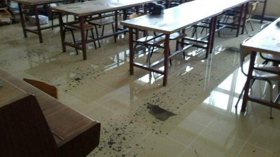 СДСМ вработува партиски војници- поради нивната неодговорност се поплави училиштето во Струга (ФОТО)