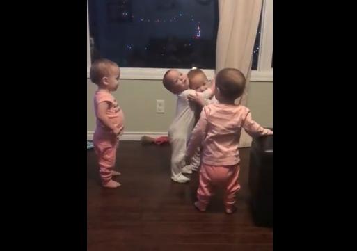 НЕОДОЛИВО ВИДЕО: Нема поискрена љубов од љубовта на децата