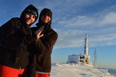 ФОТО: Менде ја запроси Елена на 2.601 м. надморска височина