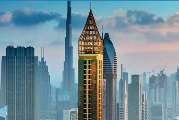 ФОТО: Ова е највисокиот хотел на светот, блесна во Дубаи