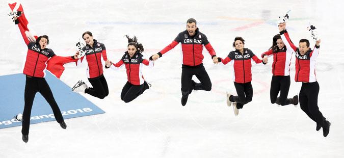 Канадскиот тим најдобар во уметничко лизгање