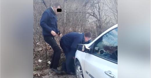 Крадец фатен на дело: Совладан од обезбедувањето на скопска клиника (ВИДЕО)