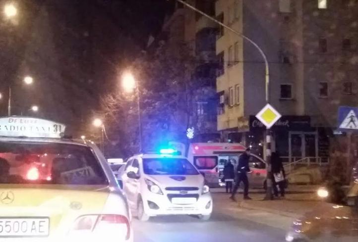 ФОТО: Пешак повреден во сообраќајка во Скопје