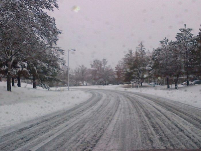 Еве каде вее снег во моментов во Македонија