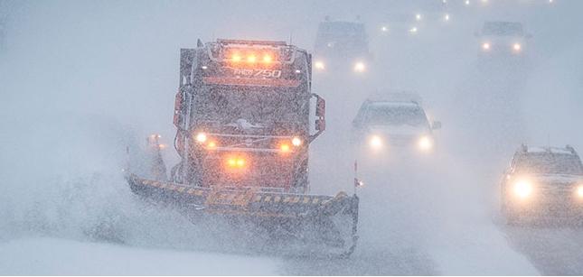 Забрана на сообраќај на тешки товарни возила на Пресека