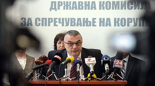 Горан Миленков си поднесе оставка од Антикорупциска