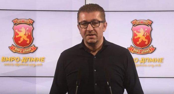 Мицкоски  Македонија е киднапирана и срушена држава  тргнуваме на терен и ќе понудиме алтернатива на граѓаните