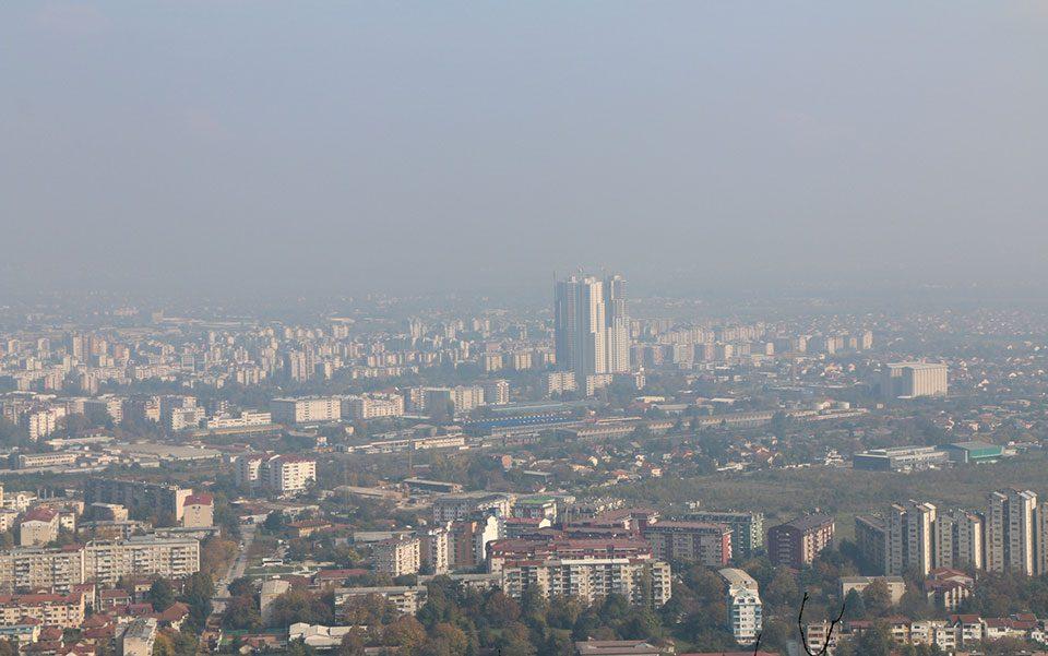 Во главниот град не се дише: Скопје енормно загадено во моментов