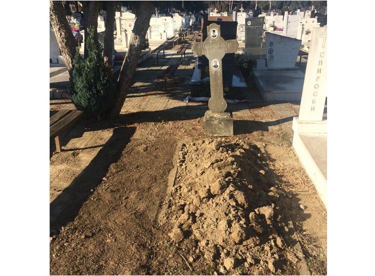 Неверојатен скандал во Охрид: Незаконски откопан гроб на градските гробишта, политичарка од СДСМ сакала да го присвои?