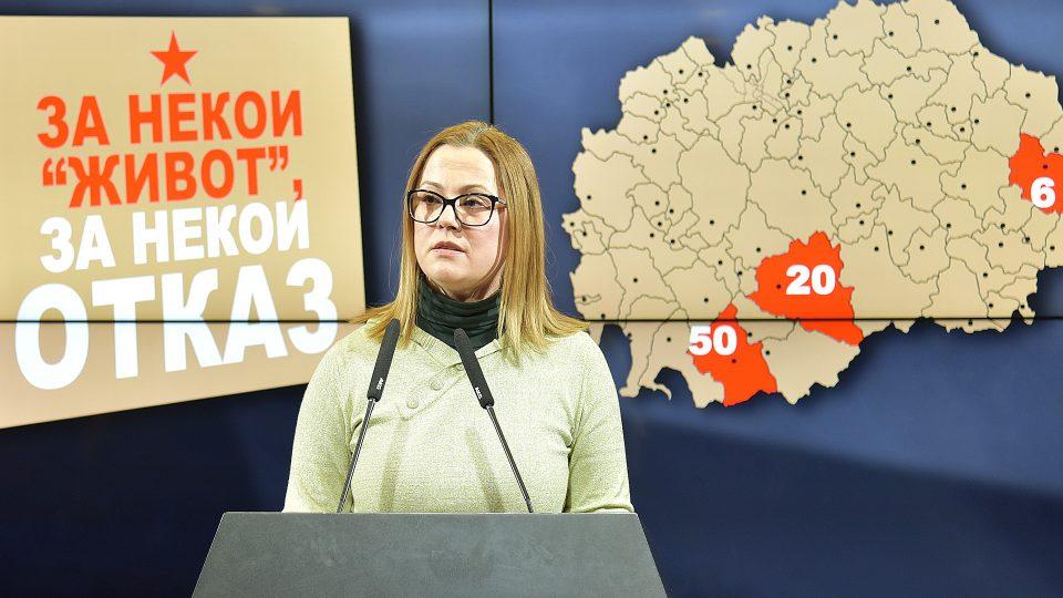 Јовановска- Стојановска: Новите општински власти од СДСМ не отвораат, туку затвораат работни места