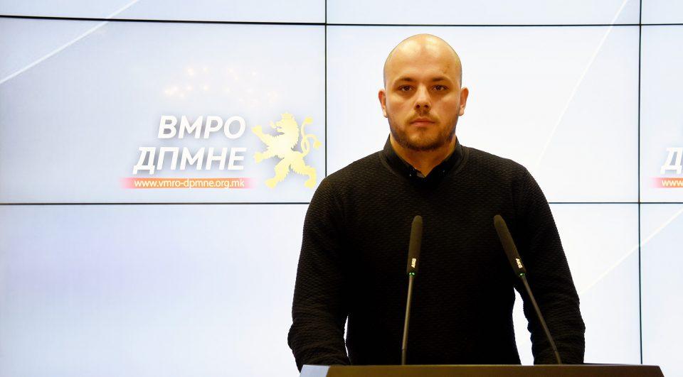 Костовски: Општина Бутел брка од работа 2 инвалидизирани лица, за возврат вработува дваесетина нови меѓу кои и локални криминалци
