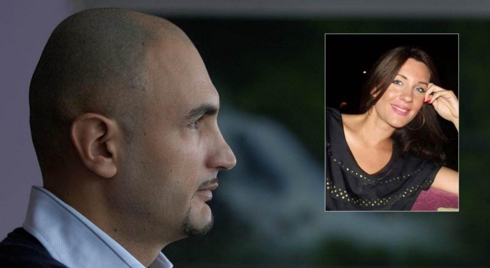 ФОТО: Поранешната сопруга на Пеце Наумоски навива за неговиот противкандидат