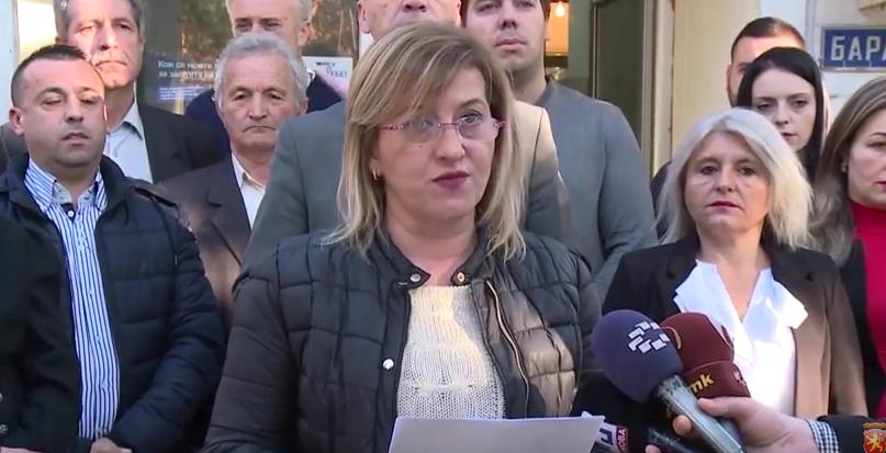 Советничката група на ВМРО-ДПМНЕ од Гази Баба изрази поддршка за неправедно затворените