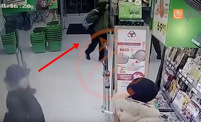 Страшна снимка од нападот во Санкт Петербург: Еве како е активирана бомбата во супермаркетот (ВИДЕО)