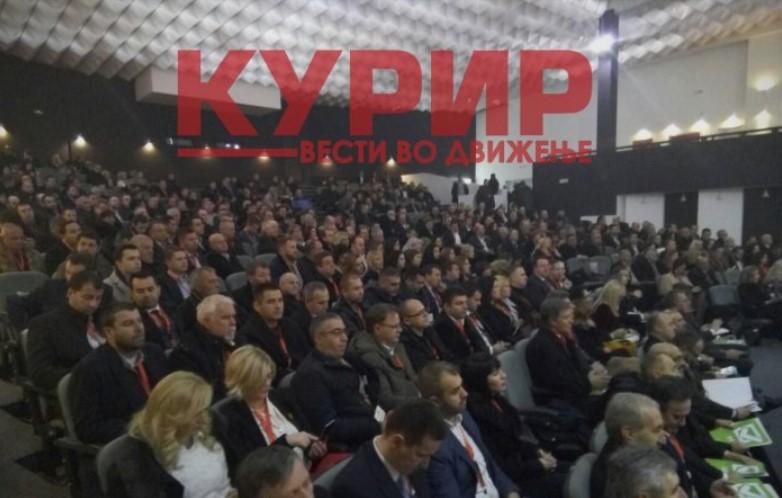 Присутни 411 делегати, исполнет условот Конгресот на ВМРО-ДПМНЕ да продолжи со работа