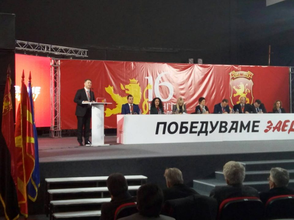 Груевски: Причината за спроведената операција за промена на владата e отпорот на ВМРО-ДПМНЕ за промена на името и идентитот по грчки терк