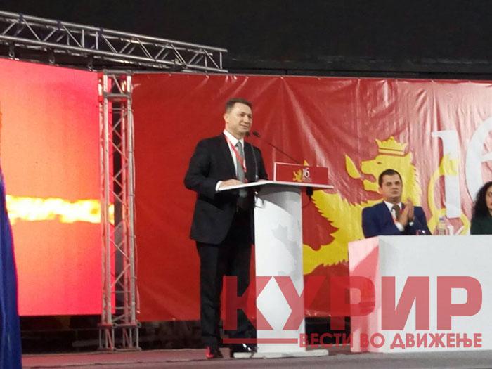Груевски: И во 2003-тата кога станав претседател во опозиција, најголем дел од блиските соработници оддеднаш се налутија
