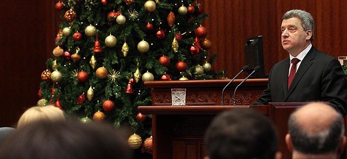 Обраќање на претседателот Иванов денеска во Парламентот