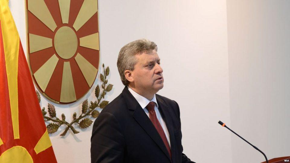 Обраќање на Иванов до граѓаните во 17:15 часот