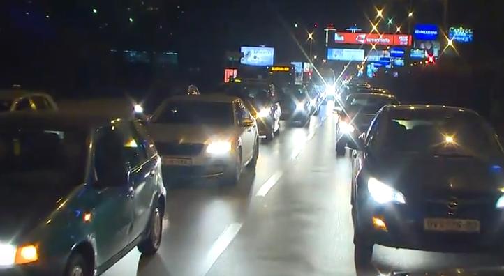 ВИДЕО: Груевски го предводеше протестниот конвој во знак на поддршка за притворените патриоти