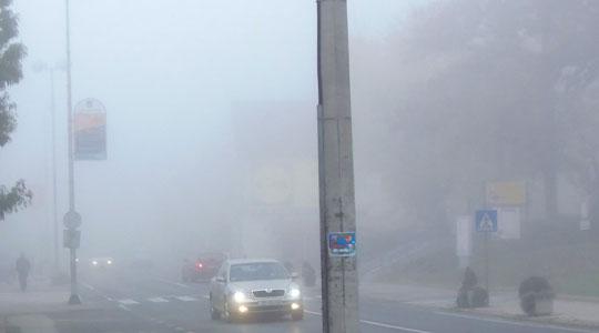 Намалена видливост поради магла во Струга, Македонски Брод, Ресен, Кичево и кај Катланово