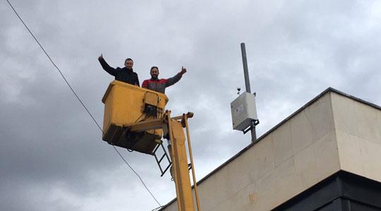 Во Кавадарци пуштена во употреба нова мерна станица за квалитетот на воздухот