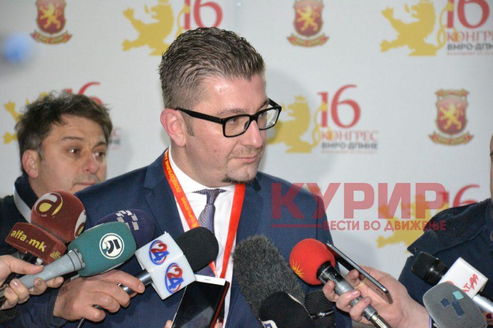 Мицкоски: Сите опции се отворени, одлуки ќе има по средбата со Заев
