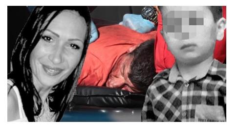 Си го пресече гркланот: Умре монструмот кој си го задави синот на гробишта, па ја избоде сопругата