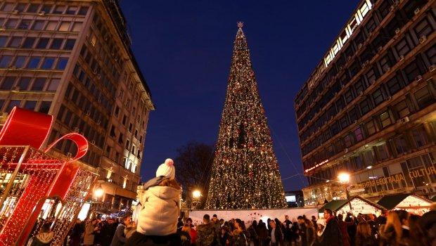 ФОТО: Белградската елка најскапа во светот, поскапа од онаа во Њујорк- Кога ќе ја дознаете нејзината цена ќе се онесвестите