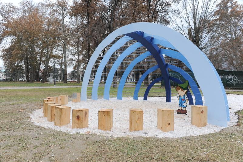 Реконструкција на детските реквизити во Градски парк