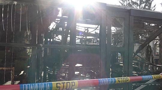 Полицијата трага по лицето што го подметнало пожарот во Прилеп