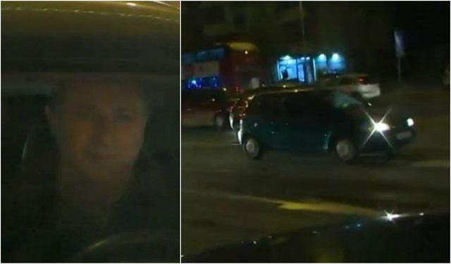 """ФОТО: Груевски со своето 20 години старо """"Пунто"""" го предводи протестниот конвој"""