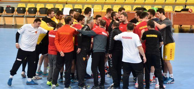 Следуваат два слободни дена за македонските ракометни репрезентативци