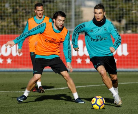 """ФОТО: Роналдо се врати на тренинзите, ќе биде дел од """"Ел Класико"""""""