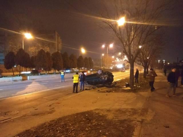 """ВИДЕО: Тешка сообраќајка вечерва кај """"Континентал"""""""