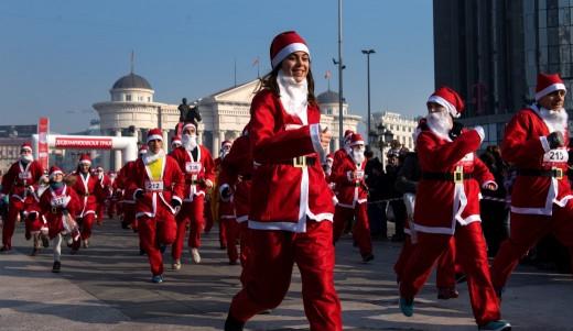 Дедомразовска трка денеска во Скопје
