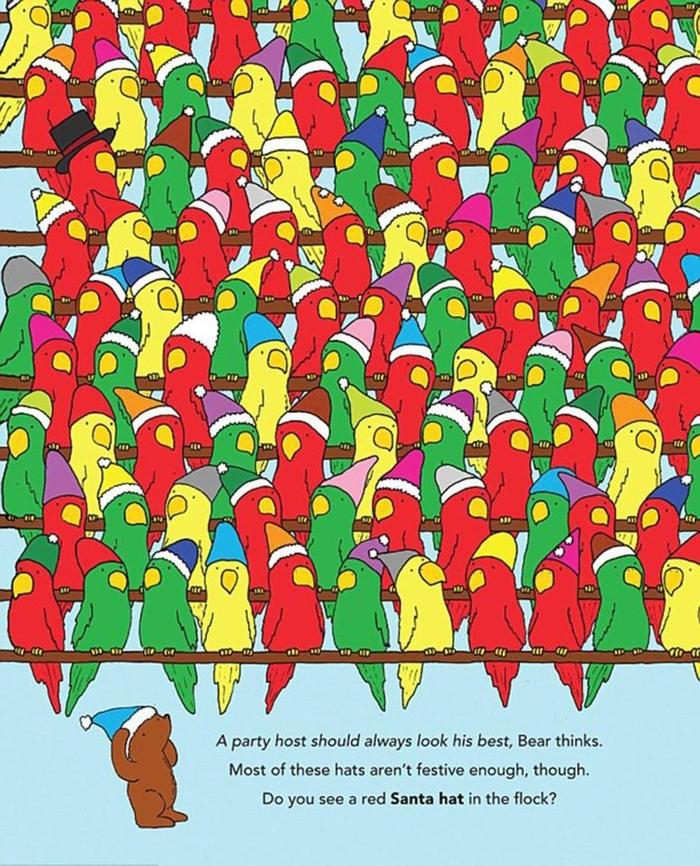 Новогодишна загатка: Ќе ја пронајдете ли капата на Дедо Мраз? (ФОТО)