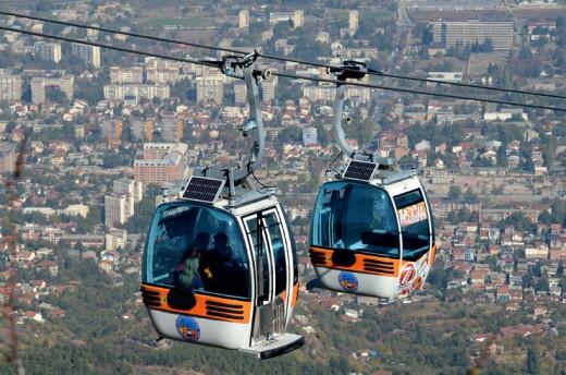 Скопската жичарница од утре со зимско работно време