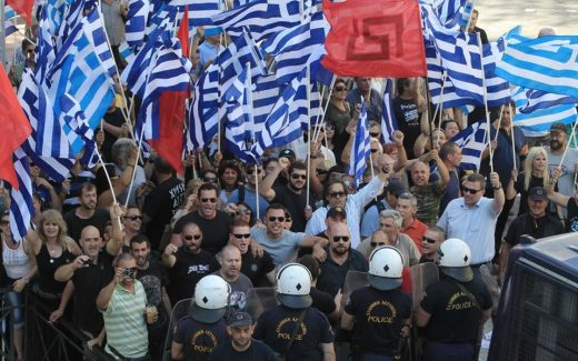 Откажани сите спортски натпревари: Утре голем протест во Солун за името Македонија