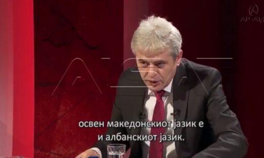 Ахмети: Албанскиот јазик ќе се употребува и во Делчево и Струмица- ако треба ќе се ангажираат преведувачи (ВИДЕО)