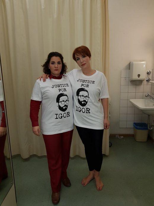 Европските оперски пејачи бараат правда за Игор Дурловски