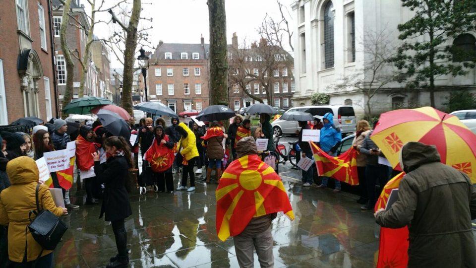Македонците од Велика Британија на нозе: Обединети сме против промена на името на државата и идентитетот на нацијата